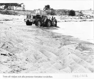 Sandgrävning Vårhallen